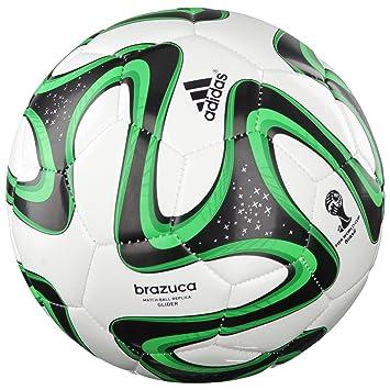 adidas Brazuca Glider - Balón de fútbol, Color - Red - Black ...
