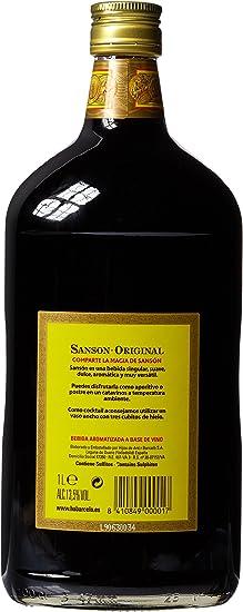 SANSON - Vino Quinado Botella 1 Lt: Amazon.es: Alimentación ...