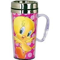 Looney Tunes Tweety Insulated Travel Mug, Pink