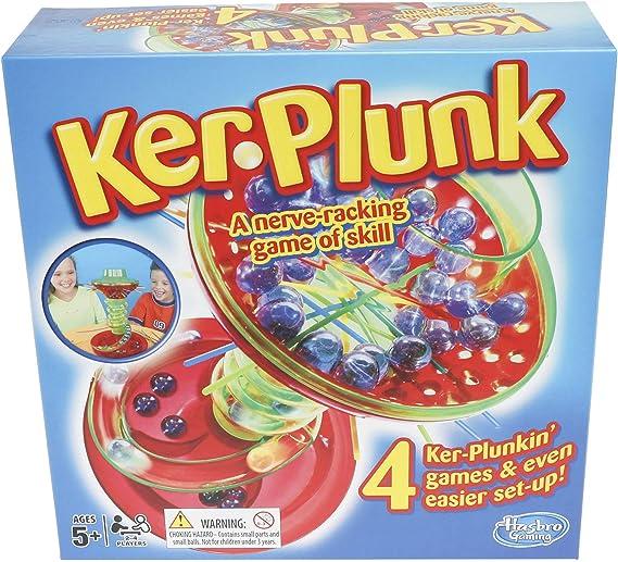 Hasbro Juego Kerplunk [versión en inglés]: Amazon.es: Juguetes y juegos
