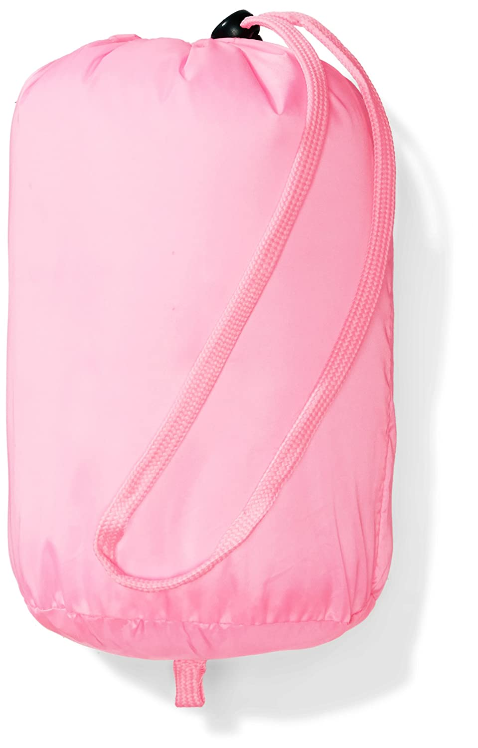 neon Flamingo Pink X-Small Essentials Little Girls Water-Resistant Packable Hooded Puffer Jacket Outerwear