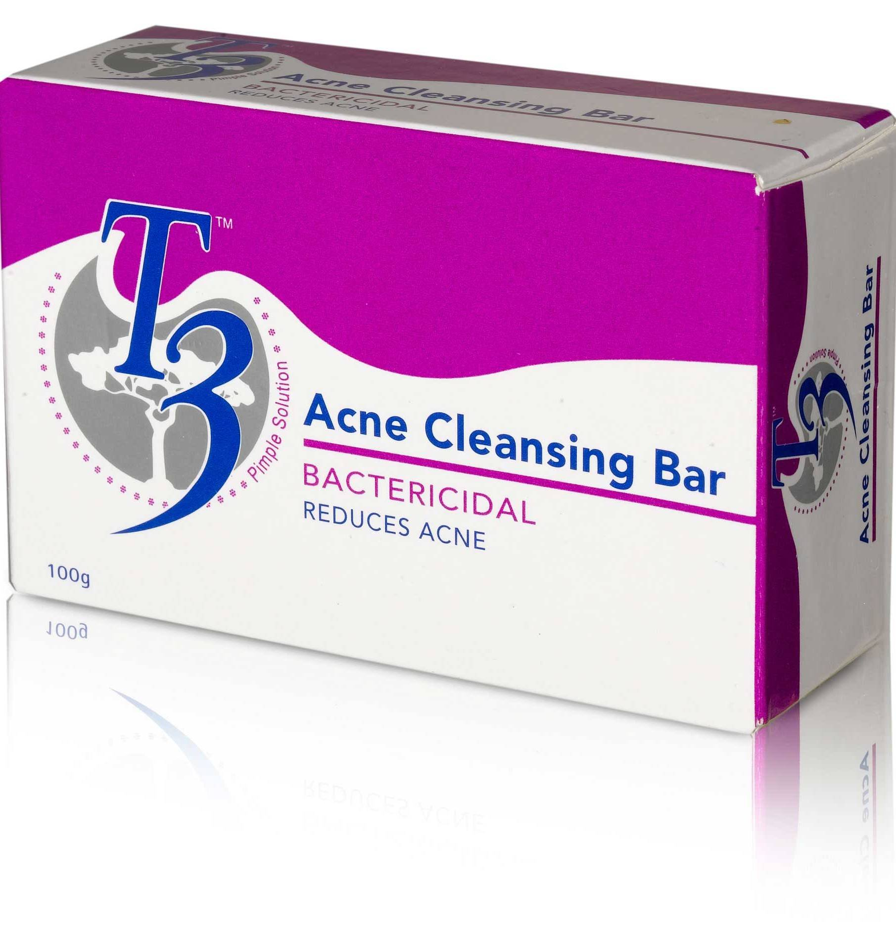 T3 Acne Cleansing Bar 100g Acne Cleansing Bar