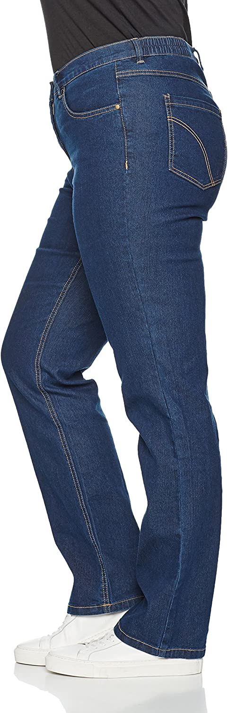 ULLA POPKEN Jeans Regular Fit Stretch K Pantaloni Donna