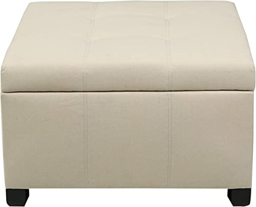 Christopher Knight Home Richmond KD Fabric Storage Ottoman