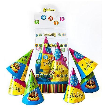 Iti fiesta de cumpleaños sombreros (paquete de 60 ...