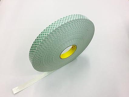 3 M 4032 cinta adhesiva de espuma de poliuretano para superficies irregulares, conformabile, Gran resistente al corte ...