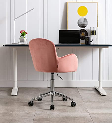 Home Office Chair,Velvet Desk Chair