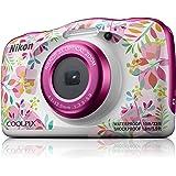 Nikon COOLPIX W150 Australian Manufacturers Warranty Nikon Coolpix W150 Digital Camera Pink Pattern, Pink Pattern (VQA113AA)