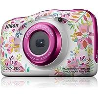 Nikon W150 Australian Warranty Nikon Coolpix Digital Camera, Pink Pattern (VQA113AA)