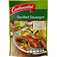 Continental Recipe Base Devilled Sausages, 12 x 40g