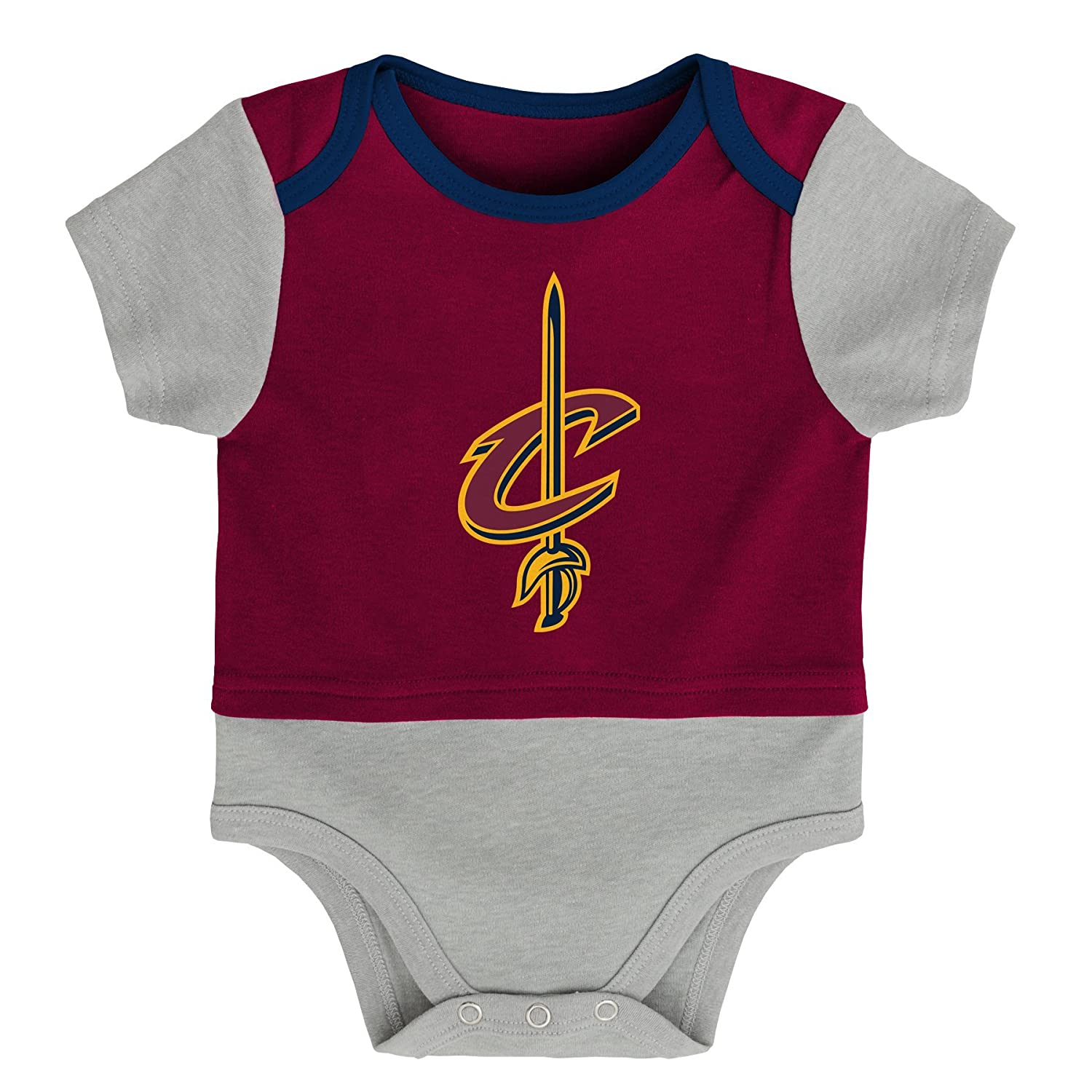 23838e7ecd7 NBA by Outerstuff NBA Newborn   Infant Referee Short Sleeve Bodysuit  9K2N1BAWB NYK B40--