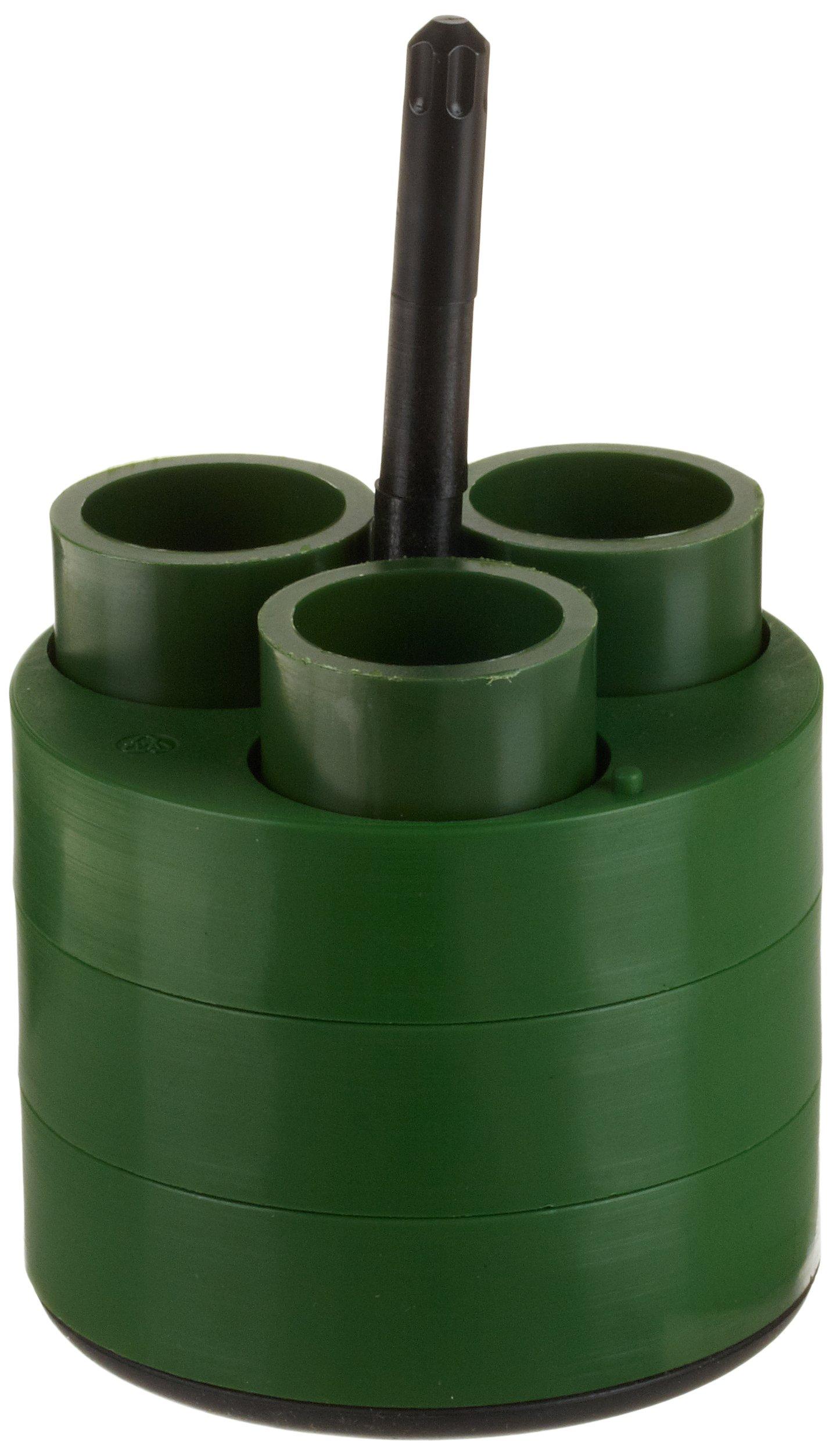 Thermo Scientific Adapter, 3 x 25mL Universal Tube, Green