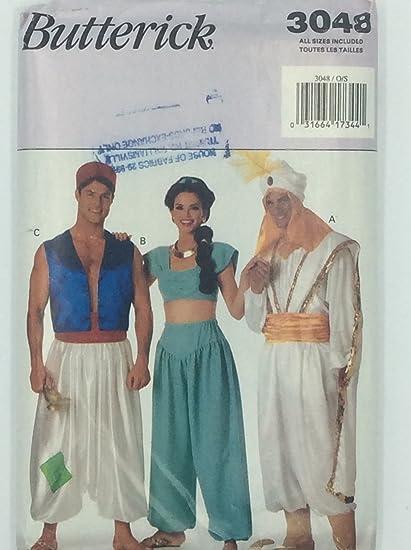 Amazoncom Aladdin Jasmine Genie Hombres Mujeres Disfraces