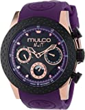 MULCO Unisex MW5-1962-087 Analog Chronograph Swiss Watch