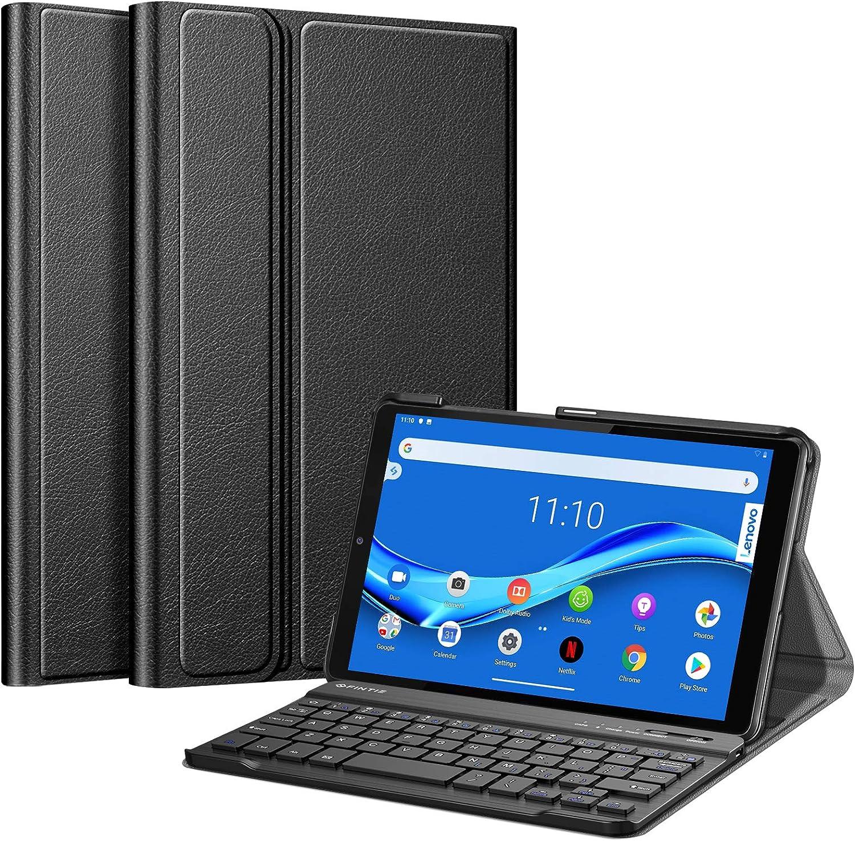Fintie Keyboard Case for Lenovo Tab M8 HD TB-8505F TB-8505X / Smart Tab M8 TB-8505FS/ Tab M8 FHD TB-8705F 8