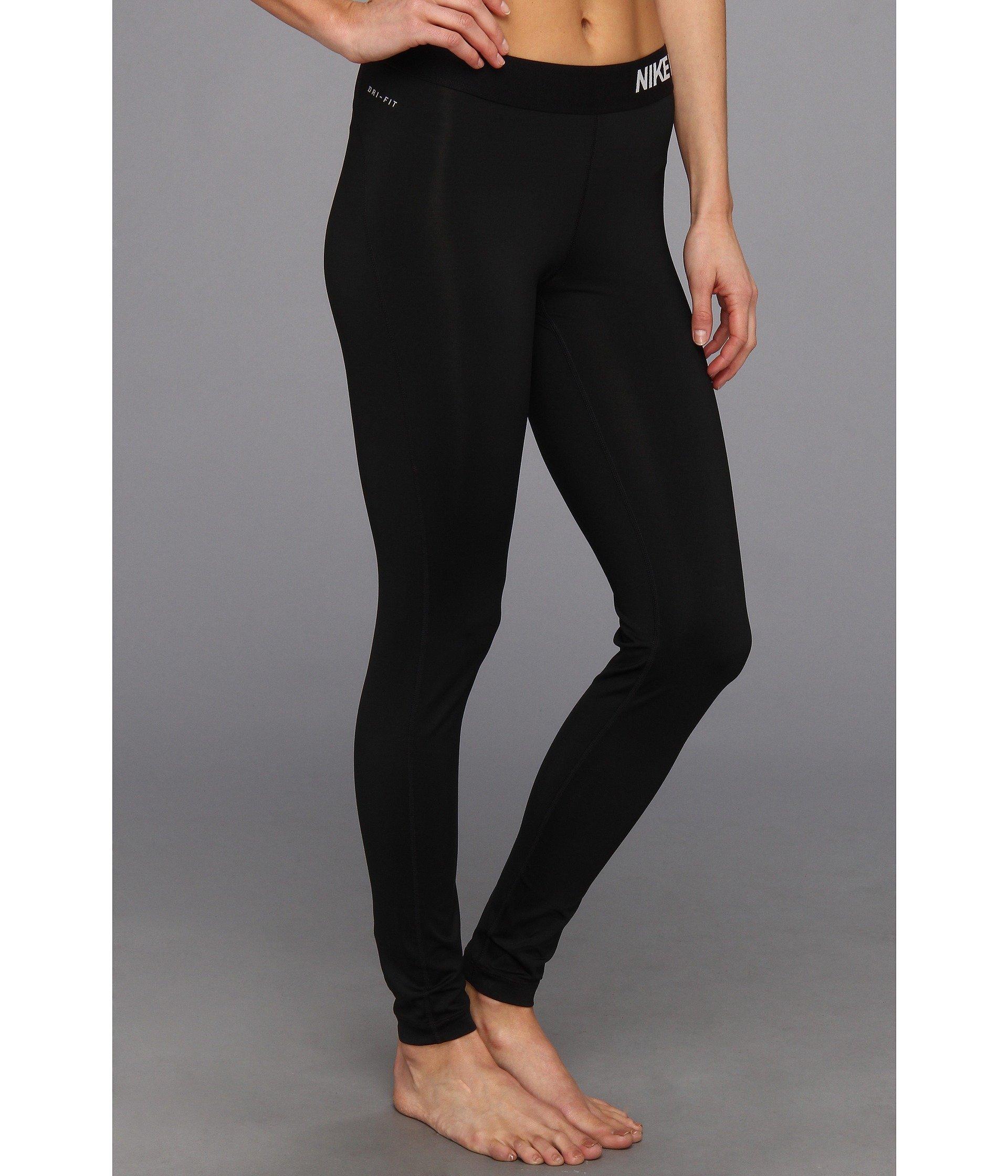 Nike Women's PRO Dri-FIT Training Competition Tights-Pants; Black, [M] Medium by Nike