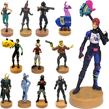 Fortnite Authentic Toys With Stamp Set Of 12 Ghoul Trooper Brite Bomber Other Popular Fornite Battle Royale Characters B Series Collection 2 Of 3 For Boys Amazon Co Uk Toys Games