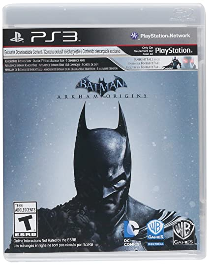 BLUS31147L Batman: Arkham Origins (PS3) - Video Game