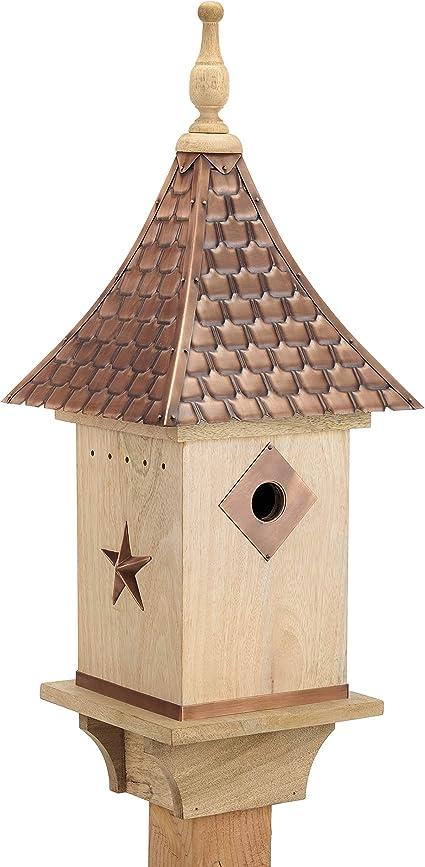 Amazon Com Good Directions Bh201w Villa Bird House Copper Garden Outdoor