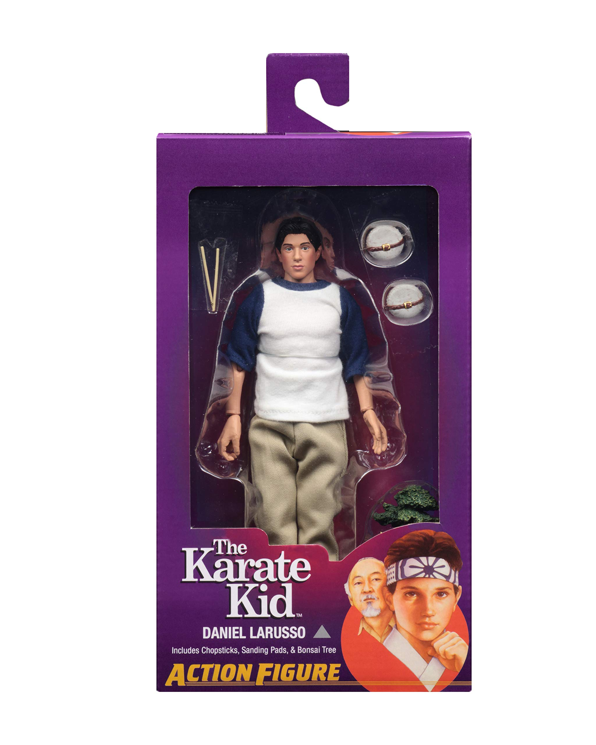 NECA The Karate Kid - Daniel LaRusso - 8'' Clothed Action Figures by NECA