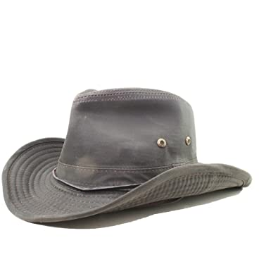 Amazon.com  Stetson Diaz Distressed Cotton Western Hat  Clothing dca3d95ce30