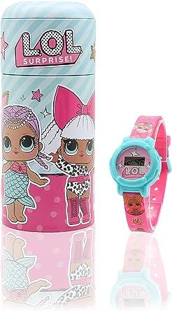L.O.L. Surprise! Reloj Digital para Niñas con Caja Alcancía Munecas LOL: Amazon.es: Relojes