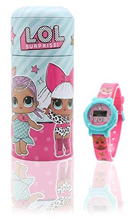 Reloj Digital para Niñas con Caja Alcancía Munecas LOL: Amazon.es: Juguetes y juegos