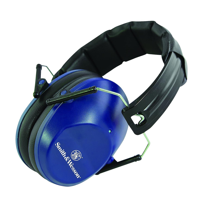 S&W 110-093 Cascos Range Muffs Lo Pro 25 Nrr, Azul, Talla Única: Amazon.es: Deportes y aire libre