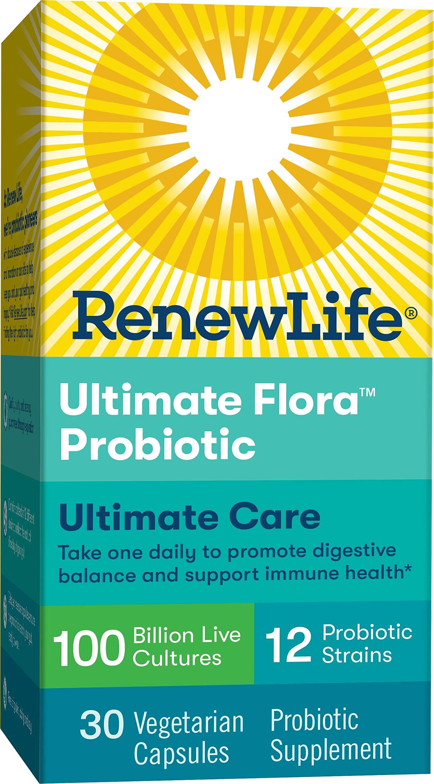 Renew Life Adult Probiotic Ultimate Flora Ultimate Care