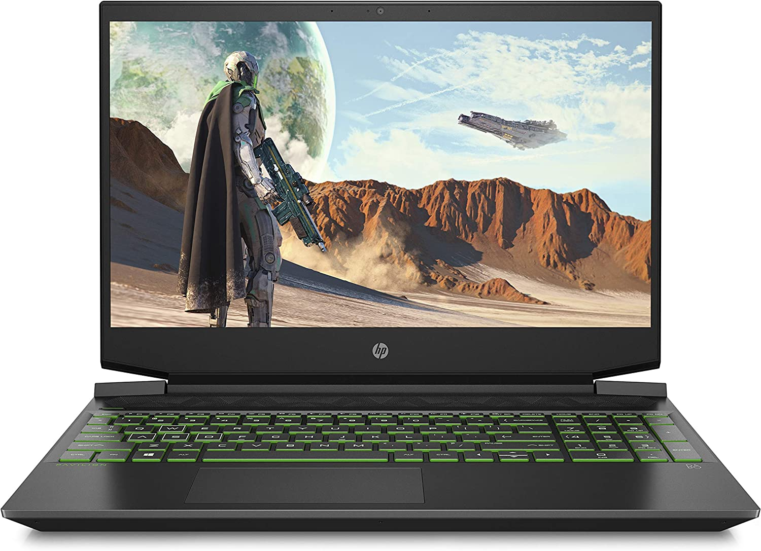 HP Pavilion Gaming 2019 15-Inch Micro-Edge Laptop, AMD Ryzen 5 3550H, NVIDIA GeForce GTX 1050 (3 GB), 8 GB RAM, 512 GB Solid-State Drive, Windows 10 Home (15-ec0010nr, Shadow Black), (15-ec-0010nr)