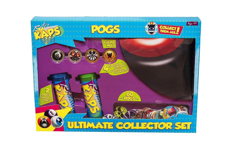 【あす楽対応】 Pog Retro Retro Kaps Pog 究極のコレクターセットゲーム内容:ポッグ60個、専用スラマー4個 Kaps、収納チューブ2個、デラックスゲームマット1個 B07MGC5Z4X, パールコレクション SHINWA:70ce2301 --- hohpartnership-com.access.secure-ssl-servers.biz