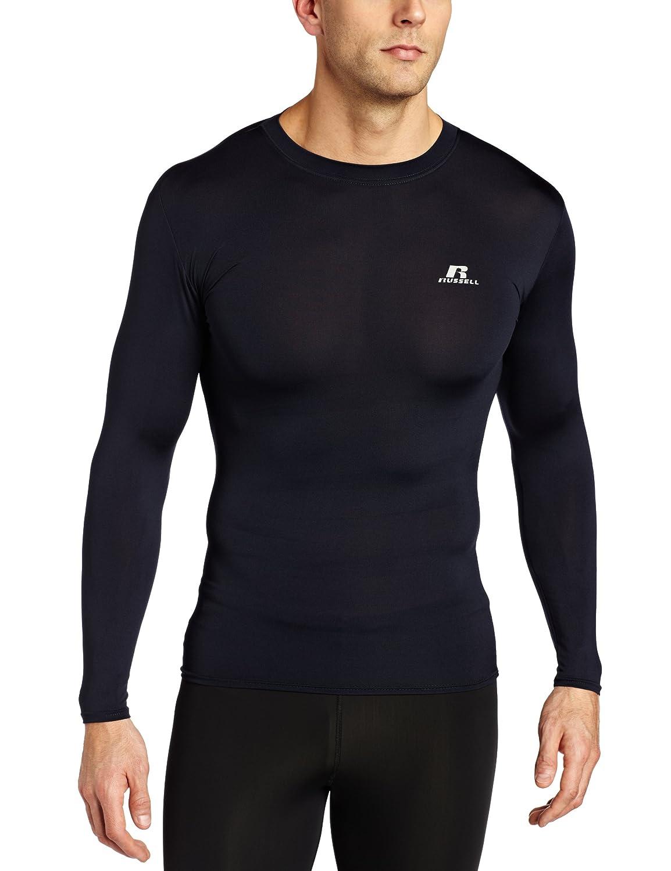 b7ea8e0cd Amazon.com: Russell Athletics Men's Compression Long Sleeve Top: Clothing