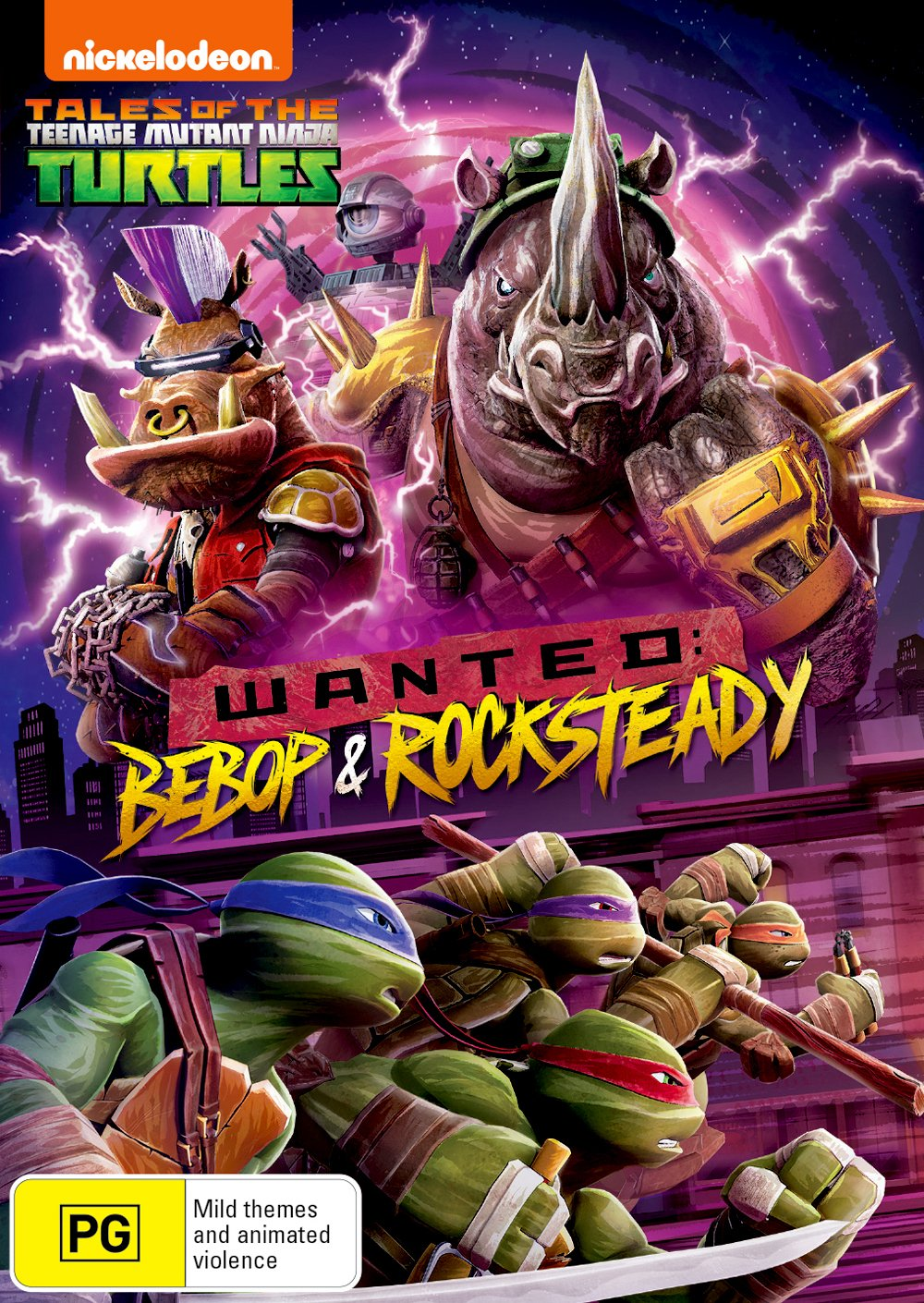Teenage Mutant Ninja Turtles: Wanted - Bebop & Rocksteady ...