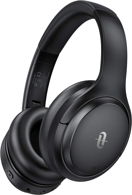 TaoTronics Hybrid Active Noise Cancelling Headphones Bluetooth Headphones Wireless Headphones Over Ear Christmas Birthday Gifts for Men Women Kids myusamart