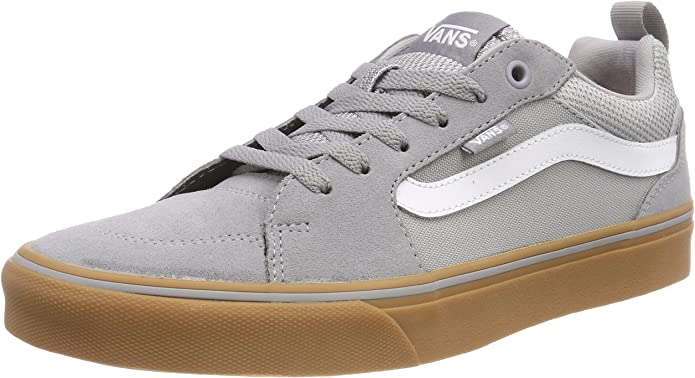 Vans Filmore Sneakers Damen Herren Unisex Grau/Kautschuk (Gum)