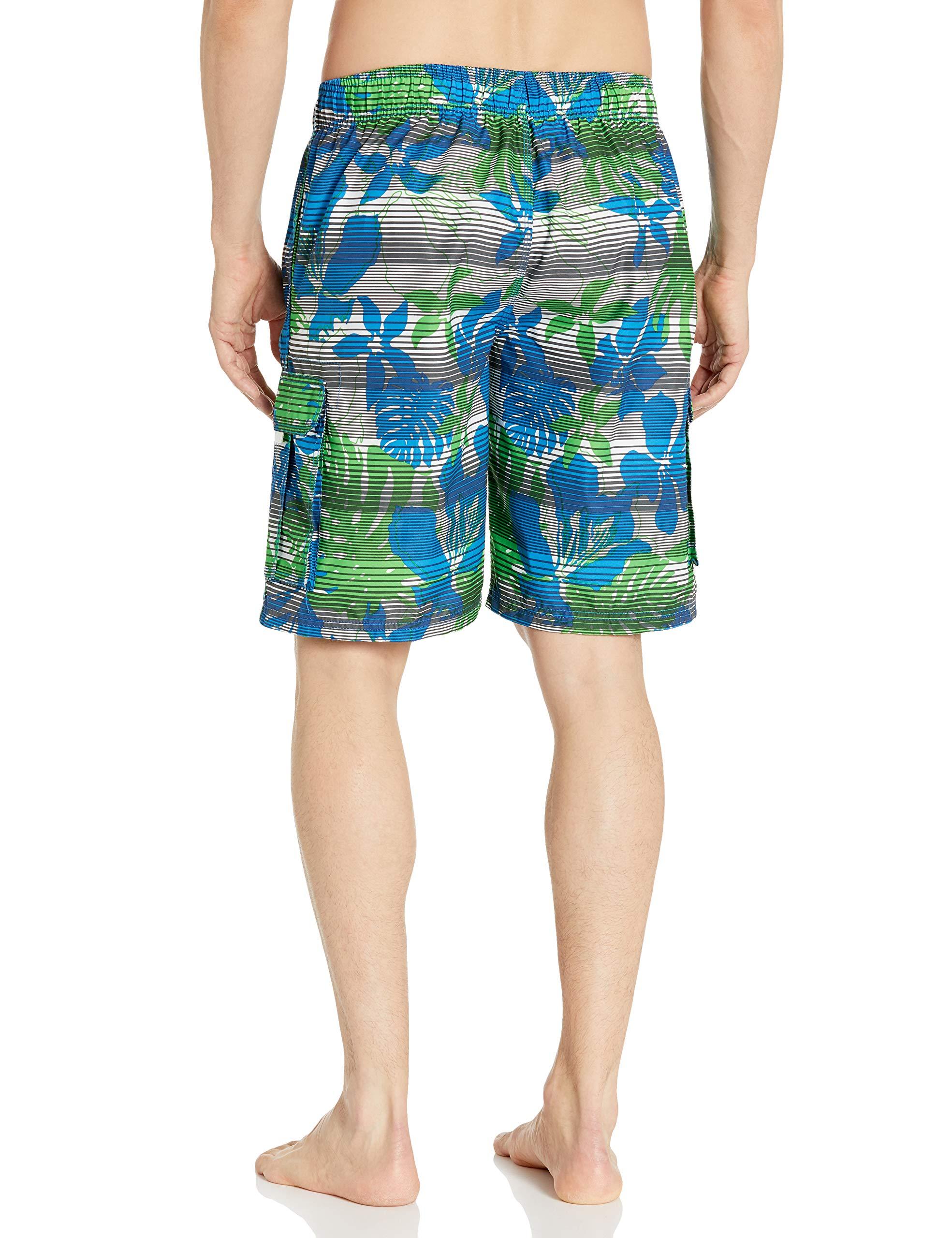 Kanu Surf Men's Barracuda Swim Trunks (Regular & Extended Sizes)
