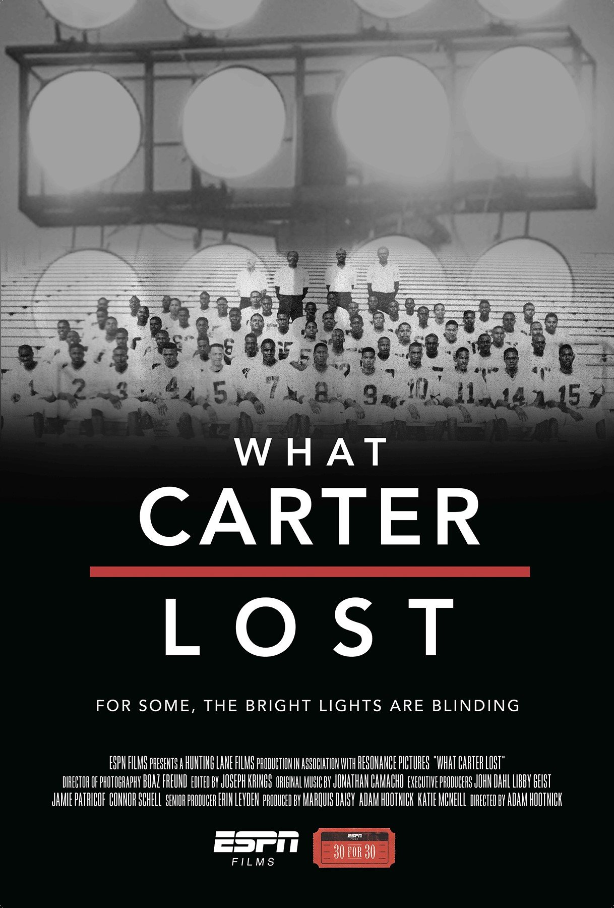 ESPN Films 30 for 30: What Carter Lost