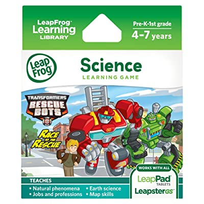 LeapFrog Transformers Rescue Bots Race to the Rescue: Toys & Games