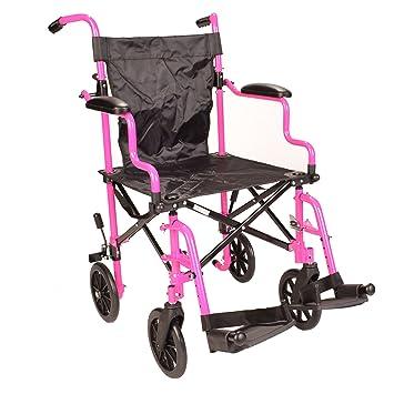 Amazon.com: Ultra Lightweight Pink Folding Travel Transport ...