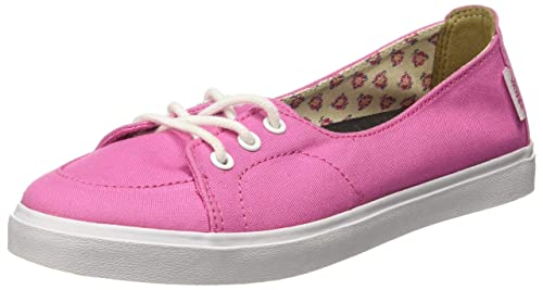 d19ca11043b8ed Vans Women s Tropical Floral and Ibis Rose Sneakers -  3 UK India (35