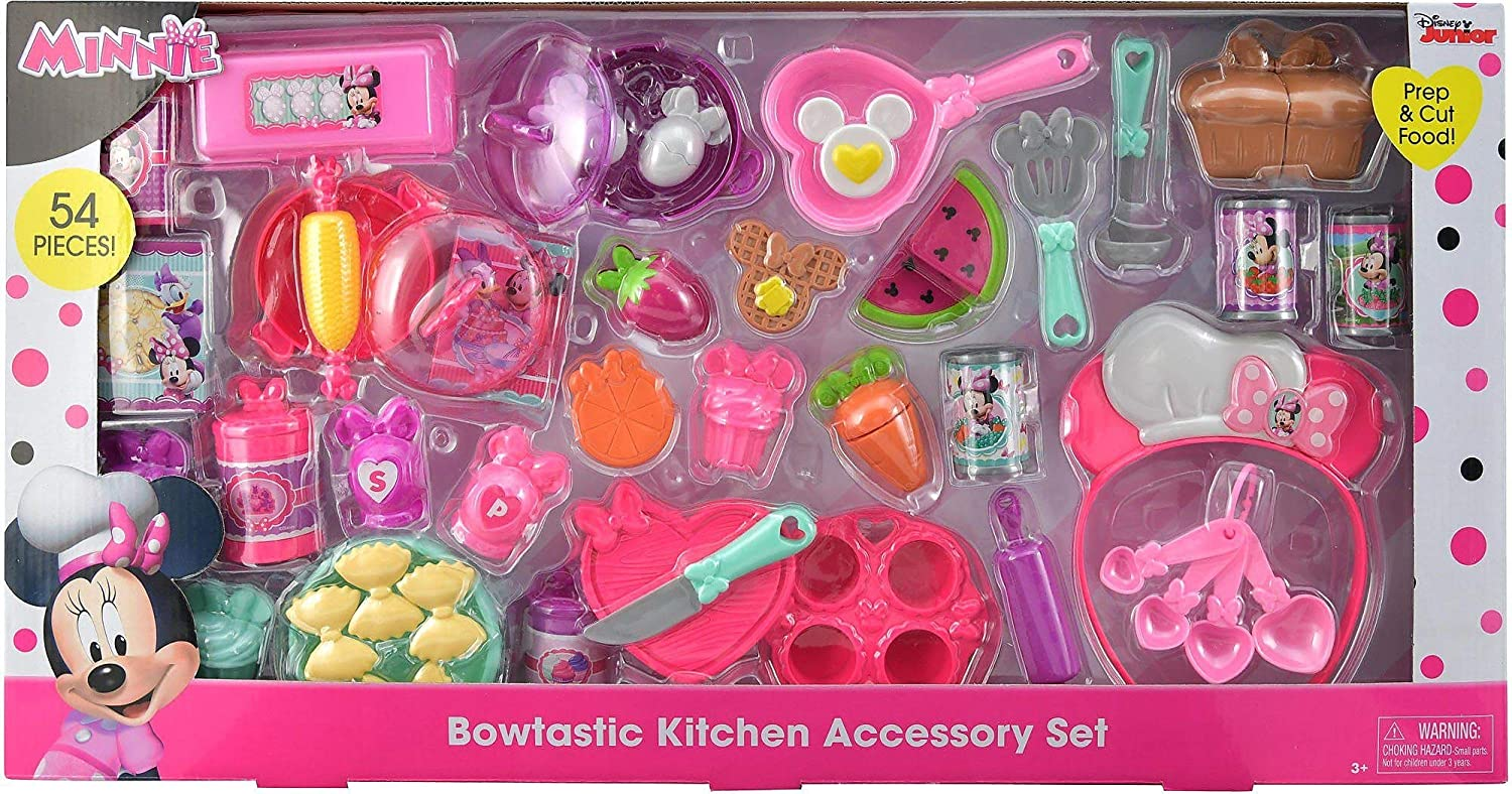 buy disney minnie minis kitchen accessory set online at low prices rh amazon in minnie mouse sweet surprise kitchen accessories minnie mouse bowtastic kitchen accessories