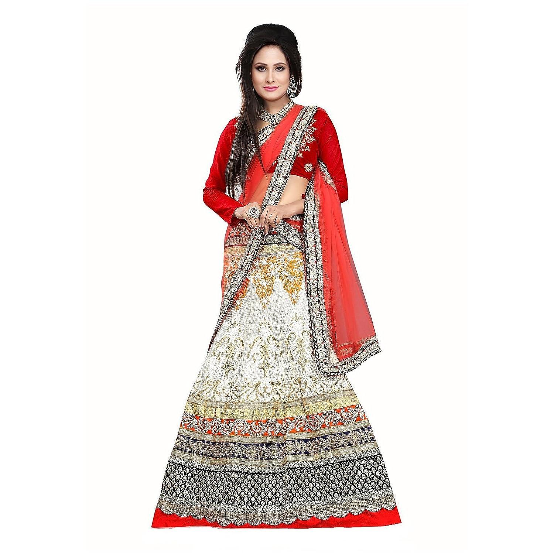 Fab Glory Women's Exclusive, Party Wear Designer Bollywood Replica Lehenga Choli (Semi-Stitched)