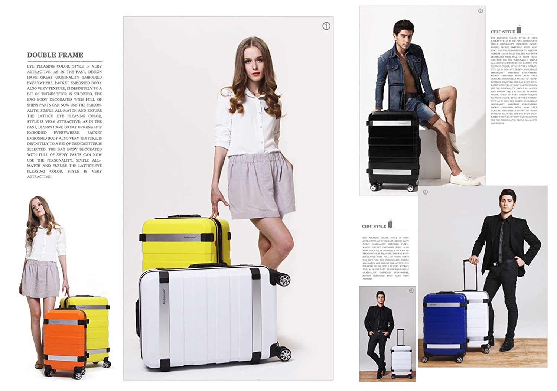 Amazon.com: Ambassador Equipaje Fashion al marco ...