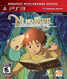 Ni No Kuni: Wrath of the White Witch: Playstation 3: Namco