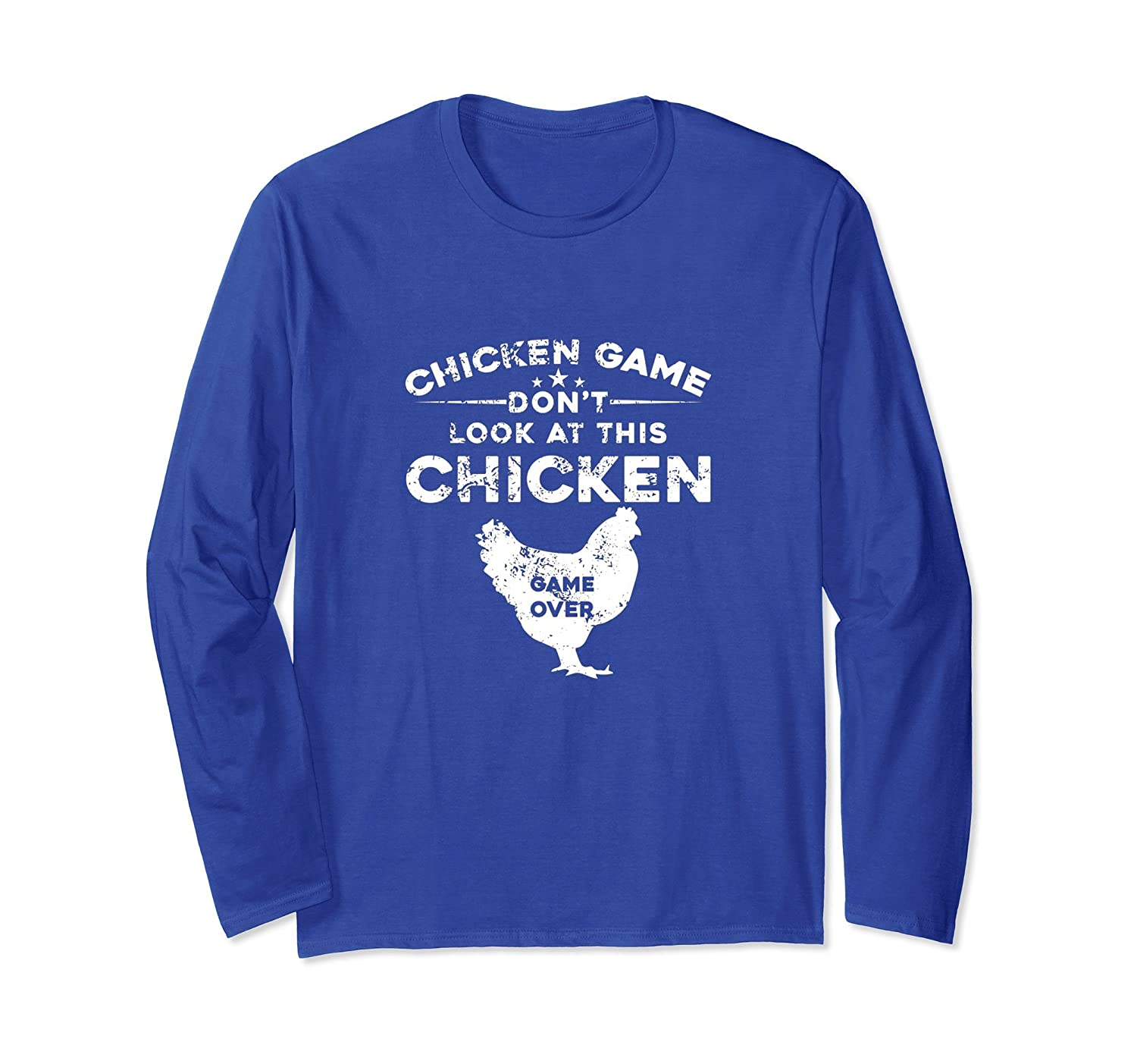Don't Look At This Chicken Game Over Tshirt-alottee gift
