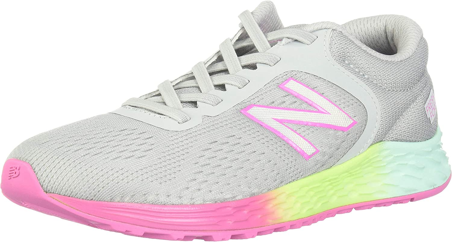 Zapatilla Running Niña New Balance YAARIFL2 Gris (30 EU): Amazon ...