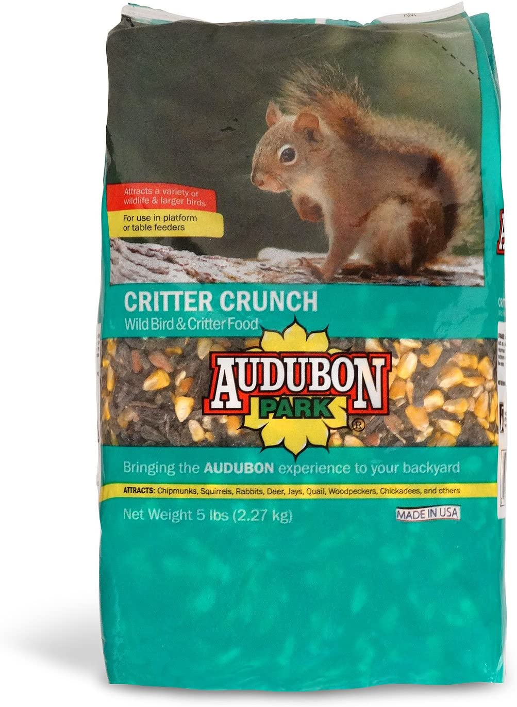 Audubon Park 12234 Critter Crunch Wild Bird and Critter Food, 5-Pounds