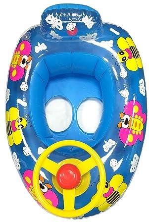 Bebé Niños hinchable mariposa volante Anillo de flotador de natación entrenador asiento coche 2 - 5y, Blue Butterfly Car: Amazon.es: Deportes y aire libre