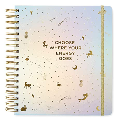 2019-2020 Choose Where Your Energy Goes, 17 Month Daily Planners/Calendars: Tri-Coastal Design Planners with Monthly, Weekly and Daily Views - ...