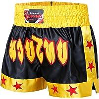 FARABI Pantalones Cortos Sports para MMA, Boxeo, Muay